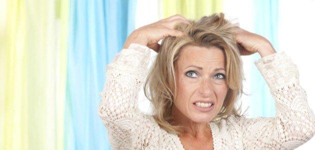 علاج التهاب فروة الراس بعد الصبغة