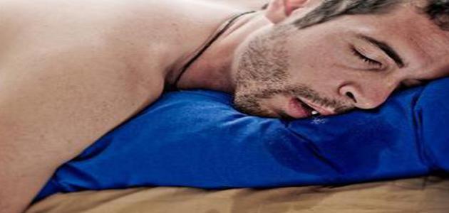 ما هو علاج سيلان اللعاب اثناء النوم