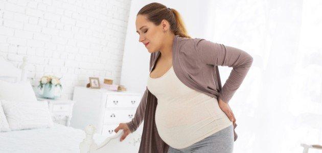 التقلصات في الشهر التاسع من الحمل