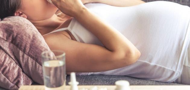 ما علاج الزكام للحامل