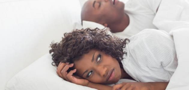 ما هو علاج الشخير عند النوم